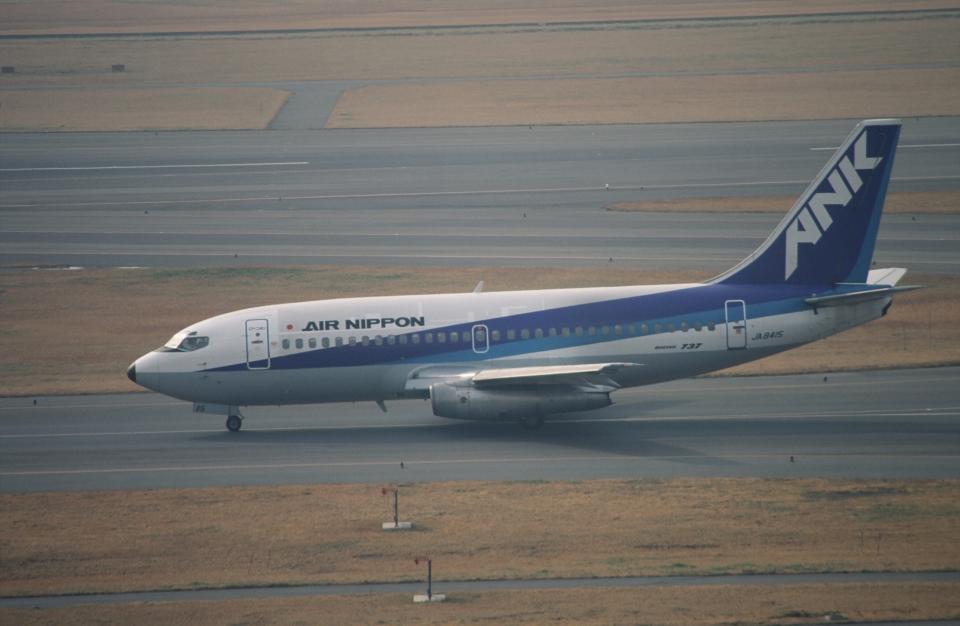 ja007gさんのエアーニッポン Boeing 737-200 (JA8415) 航空フォト