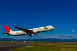 カヤノユウイチさんが、出雲空港で撮影した日本航空 767-346の航空フォト(飛行機 写真・画像)