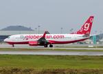 RA-86141さんが、クアラルンプール国際空港で撮影したフライグローブスパン 737-8BKの航空フォト(写真)