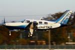Chofu Spotter Ariaさんが、調布飛行場で撮影した日本個人所有 PA-46-350P Malibu Mirageの航空フォト(飛行機 写真・画像)