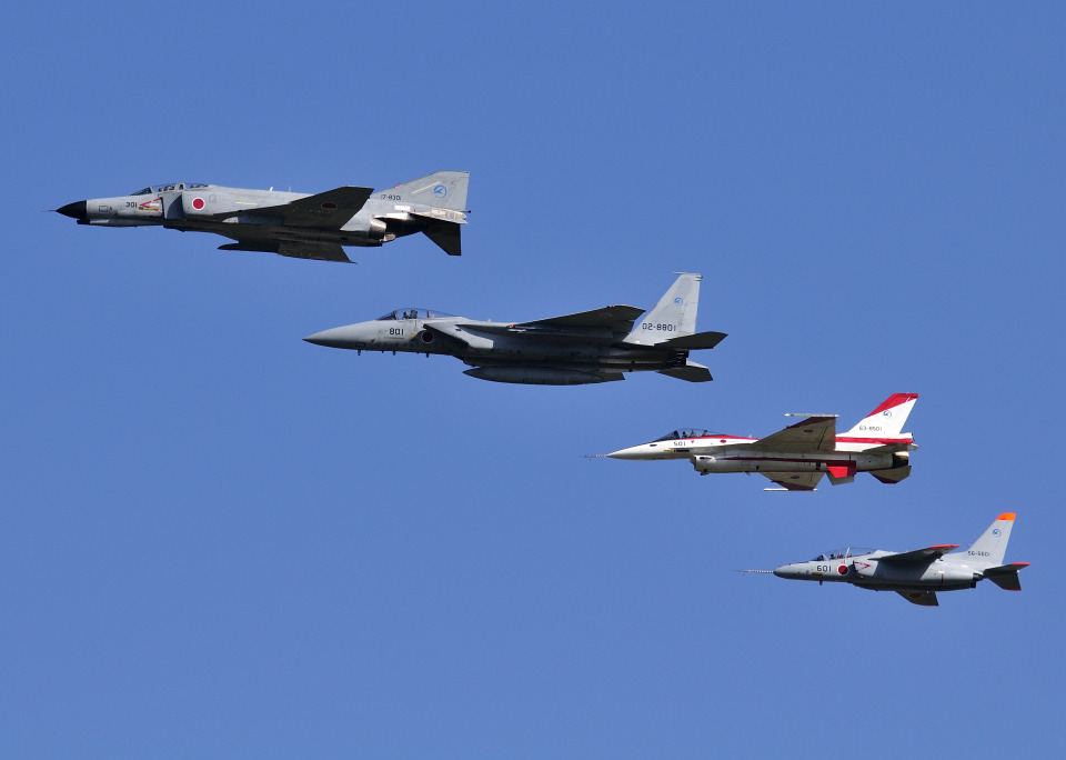 RA-86141さんの航空自衛隊 McDonnell Douglas F-4EJ Phantom II (17-8301) 航空フォト