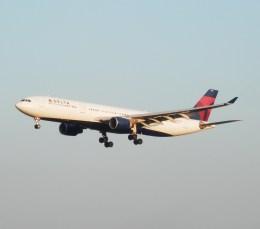 デルタおA330さんが、成田国際空港で撮影したデルタ航空 A330-323Xの航空フォト(飛行機 写真・画像)