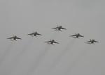 ジョンソンさんが、芦屋基地で撮影した鯤鵬航空 T-4の航空フォト(写真)