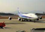 よしこさんが、広島空港で撮影した全日空 747-481(D)の航空フォト(飛行機 写真・画像)