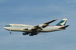 camelliaさんが、成田国際空港で撮影したキャセイパシフィック航空 747-412(BCF)の航空フォト(飛行機 写真・画像)
