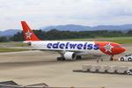 ふじいあきらさんが、広島空港で撮影したエーデルワイス航空 A330-223の航空フォト(写真)