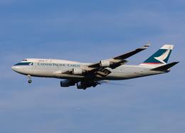 goldengoldsさんが、成田国際空港で撮影したキャセイパシフィック航空 747-412(BCF)の航空フォト(飛行機 写真・画像)