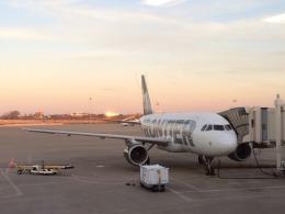 nyukioさんが、ナッシュビル国際空港で撮影したフロンティア航空 A319-111の航空フォト(飛行機 写真・画像)