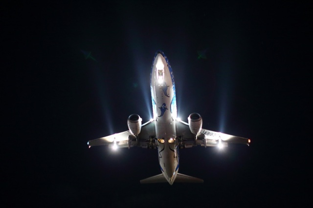 keks34さんが、福岡空港で撮影した日本トランスオーシャン航空 737-4Q3の航空フォト(飛行機 写真・画像)