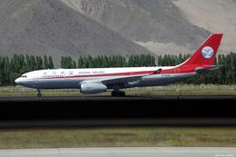 apphgさんが、ラサ・クンガ空港で撮影した四川航空 A330-243の航空フォト(飛行機 写真・画像)