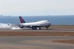 たにへいさんが、中部国際空港で撮影したデルタ航空 747-451の航空フォト(写真)