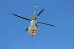 たにへいさんが、中部国際空港で撮影した海上保安庁 412EPの航空フォト(写真)