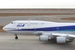 たにへいさんが、中部国際空港で撮影した全日空 747-481(D)の航空フォト(写真)