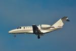 パンダさんが、羽田空港で撮影したロイヤル化粧品 525A Citation CJ2の航空フォト(飛行機 写真・画像)