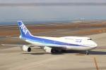 たにへいさんが、中部国際空港で撮影した全日空 747-481(D)の航空フォト(飛行機 写真・画像)
