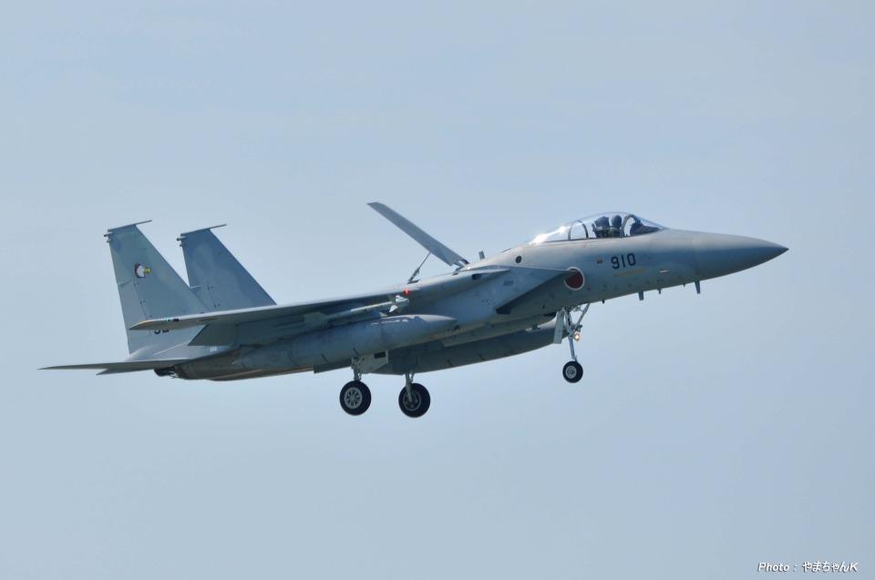 やまちゃんKさんの航空自衛隊 Mitsubishi F-15J Eagle (92-8910) 航空フォト