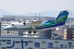 Kuuさんが、福岡空港で撮影したオリエンタルエアブリッジ DHC-8-201Q Dash 8の航空フォト(飛行機 写真・画像)