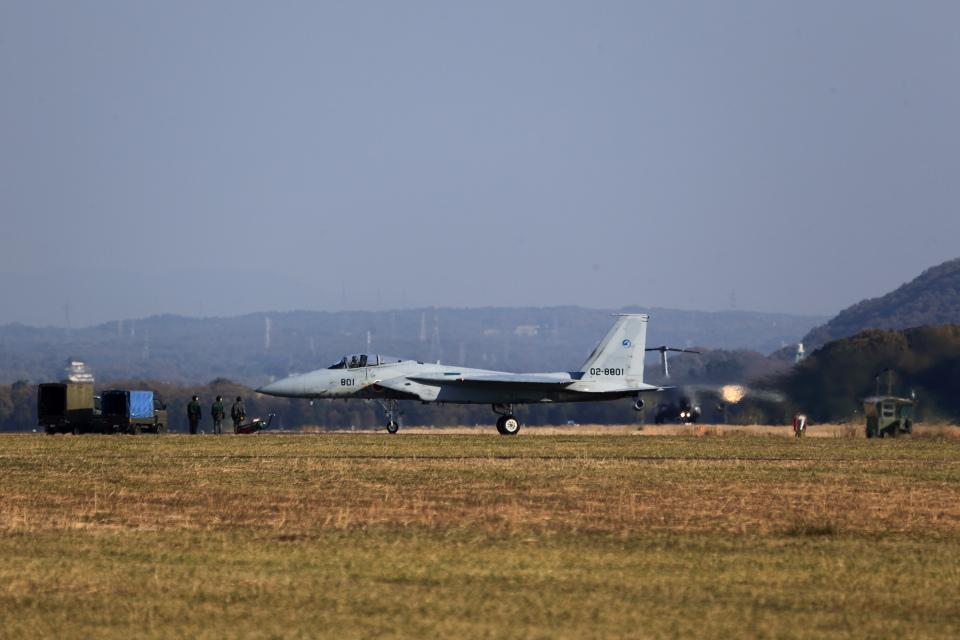 T.Sazenさんの航空自衛隊 McDonnell Douglas F-15J Eagle (02-8801) 航空フォト