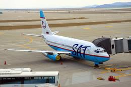 kingmengraiさんが、仁川国際空港で撮影したサハリン航空 737-2J8/Advの航空フォト(飛行機 写真・画像)