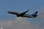 妄想竹さんが、新千歳空港で撮影した全日空 737-881の航空フォト(写真)