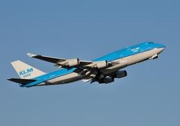 goldengoldsさんが、成田国際空港で撮影したKLMオランダ航空 747-406Mの航空フォト(写真)