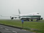 デルタおA330さんが、横田基地で撮影したエバーグリーン航空 747-446(BCF)の航空フォト(写真)