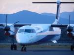 スーパードルフィンさんが、五島福江空港で撮影したANAウイングス DHC-8-402Q Dash 8の航空フォト(飛行機 写真・画像)