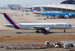 VQ-BELさんが、関西国際空港で撮影したロイヤル・ネパール航空 757-2F8Cの航空フォト(飛行機 写真・画像)