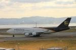 凜結さんが、関西国際空港で撮影したUPS航空 747-45E(BDSF)の航空フォト(写真)