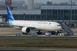 アローズさんが、福岡空港で撮影したガルーダ・インドネシア航空 777-3U3/ERの航空フォト(飛行機 写真・画像)