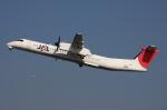WING_ACEさんが、伊丹空港で撮影した日本エアコミューター DHC-8-402Q Dash 8の航空フォト(写真)