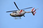 Dojalanaさんが、函館空港で撮影した朝日航洋 BK117C-2の航空フォト(飛行機 写真・画像)