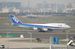 TAGUさんが、羽田空港で撮影した全日空 747-481(D)の航空フォト(飛行機 写真・画像)
