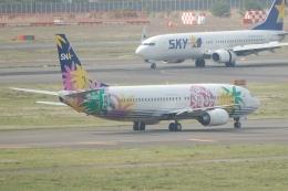 TAGUさんが、羽田空港で撮影したスカイネットアジア航空 737-4M0の航空フォト(飛行機 写真・画像)