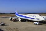 masa707さんが、長崎空港で撮影した全日空 747-481(D)の航空フォト(写真)