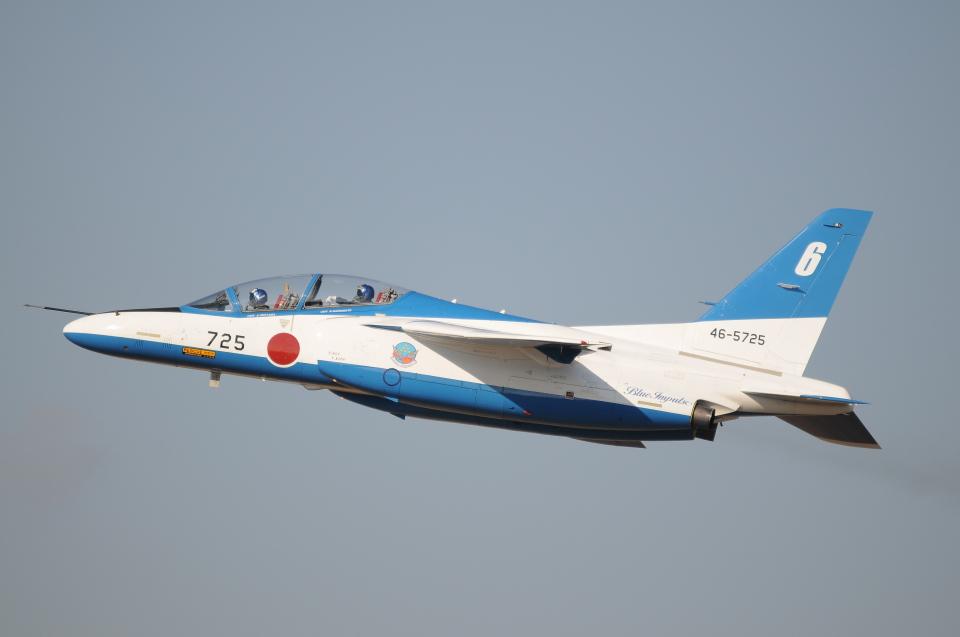 TAGUさんの航空自衛隊 Kawasaki T-4 (46-5725) 航空フォト