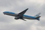 uhfxさんが、関西国際空港で撮影したKLMオランダ航空 777-206/ERの航空フォト(飛行機 写真・画像)