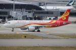uhfxさんが、関西国際空港で撮影した香港エクスプレス A320-214の航空フォト(飛行機 写真・画像)
