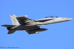 Chofu Spotter Ariaさんが、厚木飛行場で撮影したアメリカ海軍 EA-18G Growlerの航空フォト(写真)