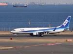 暖房さんが、羽田空港で撮影した全日空 737-881の航空フォト(写真)