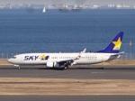 暖房さんが、羽田空港で撮影したスカイマーク 737-86Nの航空フォト(写真)