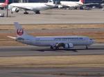 暖房さんが、羽田空港で撮影した日本トランスオーシャン航空 737-446の航空フォト(写真)