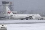 カワPさんが、函館空港で撮影した日本航空 767-346/ERの航空フォト(飛行機 写真・画像)