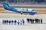 Kuuさんが、長崎空港で撮影したオリエンタルエアブリッジ DHC-8-201Q Dash 8の航空フォト(飛行機 写真・画像)