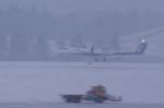 xxxxxzさんが、秋田空港で撮影したANAウイングス DHC-8-402Q Dash 8の航空フォト(飛行機 写真・画像)