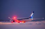 xxxxxzさんが、秋田空港で撮影した全日空 787-8 Dreamlinerの航空フォト(飛行機 写真・画像)