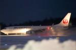 xxxxxzさんが、秋田空港で撮影したJALエクスプレス 737-846の航空フォト(飛行機 写真・画像)