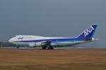 Frightmenさんが、広島空港で撮影した全日空 747-481(D)の航空フォト(飛行機 写真・画像)
