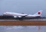 ふじいあきらさんが、広島空港で撮影した航空自衛隊 747-47Cの航空フォト(写真)