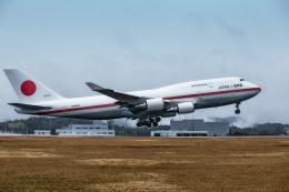 カヤノユウイチさんが、広島空港で撮影した航空自衛隊 747-47Cの航空フォト(写真)